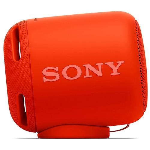 Sony Compact Portable Wireless Speaker with Extra Bass - Red