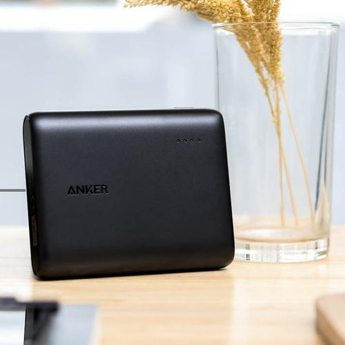 Anker PowerCore 3A 10400mAh Portable Power Bank mit PowerIQ - Schwarz