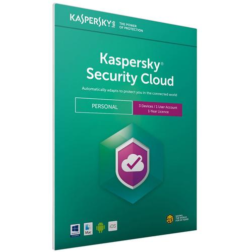 Kaspersky Security Cloud - Personal 3 Devices 1 Year - FFP