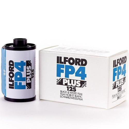 Ilford Black and White FP4+ 125 35mm Film - 24EXP