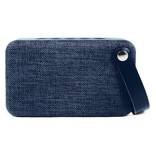 SoundZ Fabric Wireless Bluetooth Speaker - Blue