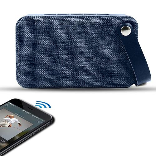 SoundZ Fabric Bluetooth Speaker - Blue
