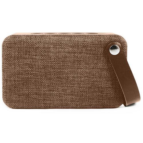 SoundZ Fabric Wireless Bluetooth Speaker - Brown