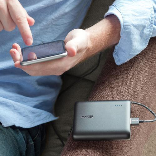 Anker PowerCore 3A 13000mAh Portable Power Bank with PowerIQ - Black - FFP