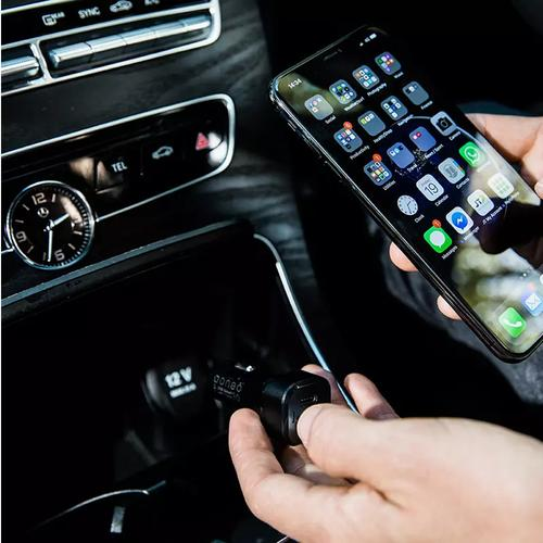 oneo Drive 3A USB-C Dual Port Car Charger