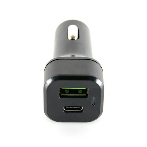 oneo Drive 3A USB-C Dual Port Fast Car Charger