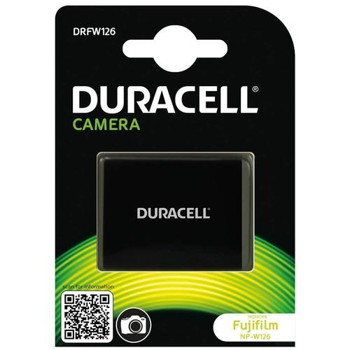 Duracell FujiFilm NP-W126 Digital Camera Battery 7.2V 1140mAh
