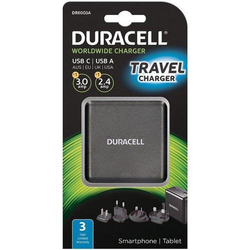 Duracell Typ-C & Typ-A Reiseladegerät