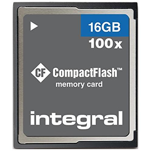 Integral 16GB Compact Flash Card