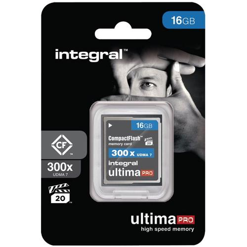 Integral 16GB 300X Ultima PRO Compact Flash Card - 45MB/s