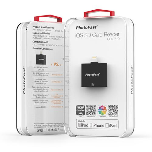 Photofast Apple Lightning to SD Card Reader - Black