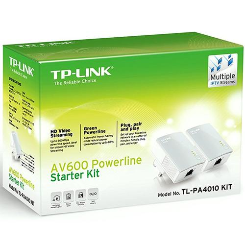 TP-Link AV600 Powerline Starter Kit (TL-PA4010)