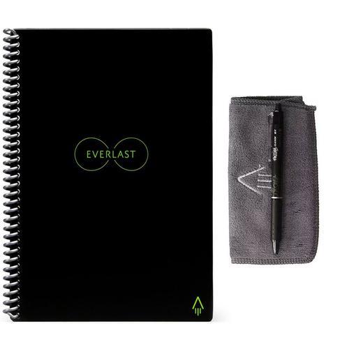 rocketbook  Rocketbook Everlast Smart Re-usable Notebook / Journal A5 - Black US ...
