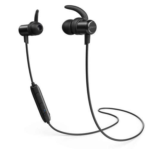 Anker SoundBuds Slim Wireless Bluetooth Headphone - Black