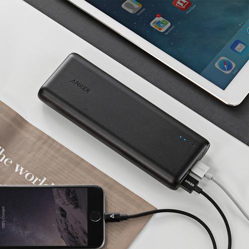 Anker PowerCore 4.8A 15600mAh Portable Power Bank with PowerIQ - Black - FFP