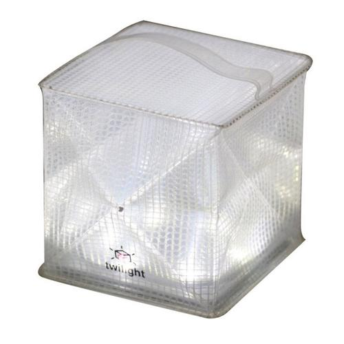 Solight Solar Twilight Portable LED Inflatable Lantern - Warm White