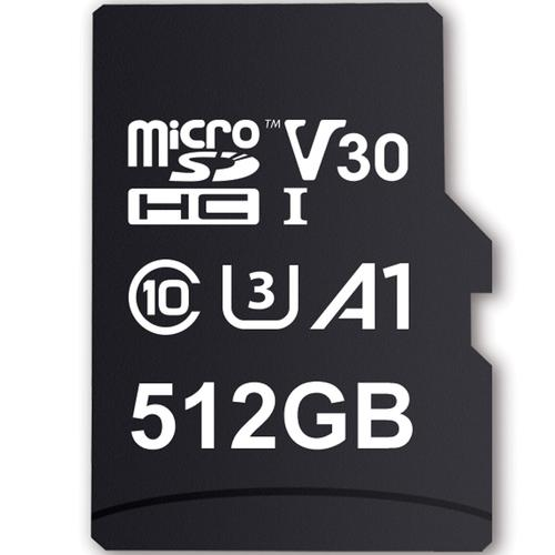MyMemory 512GB V30 PRO Micro SD (SDXC) A1 UHS-1 U3 + Adapter - 100MB/s