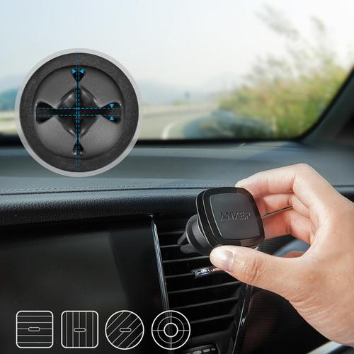 Anker Air Vent Magnetic Car Mount - Black