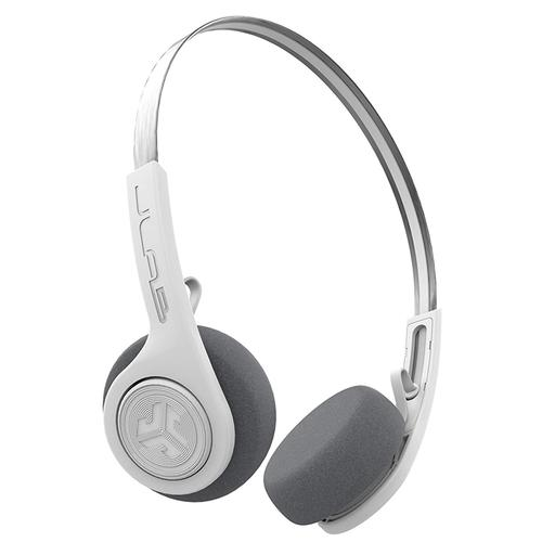 JLab Rewind Wireless BT Headphones - White