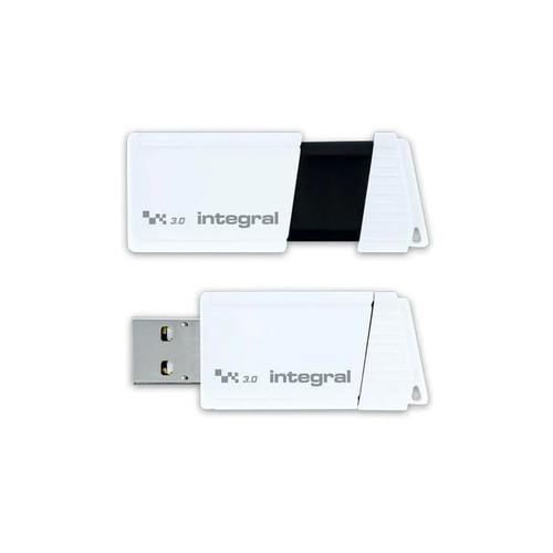 Integral Turbo 256GB USB 3.0 Flash Drive - White - 400MB/s