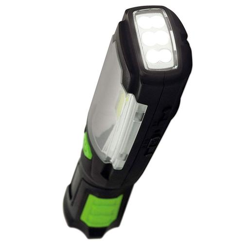 Luceco LED Rechargeable 3W Inspection Torch + USB Power Bank