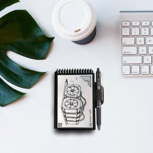 Rocketbook Everlast Smart Re-usable Notebook Mini - Black