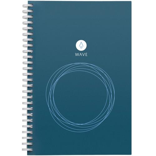 Rocketbook Wave Smart Re-usable Notebook A5 - Turquoise