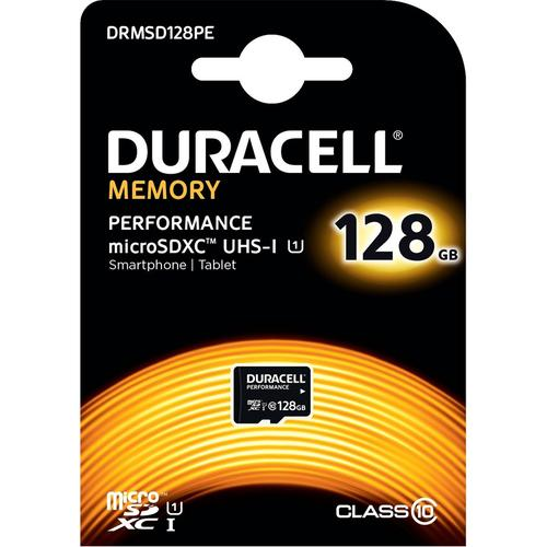 Duracell Performance 128GB Micro SD Card (SDXC) UHS-I U1 - 80MB/s