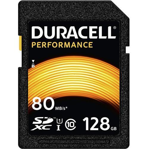 Duracell Performance 128GB SD Card (SDXC) UHS-I U1 - 80MB/s