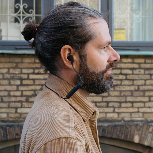 JAYS t-Four Wireless Earphones - Black