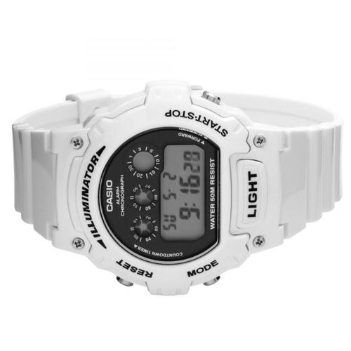 Casio Illuminator Sports Digital Chronograph Watch - White