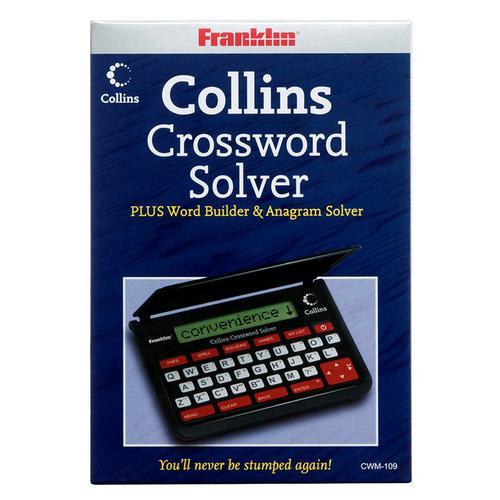 Franklin CWM109 Collins Crossword Word Builder /& Anagram Solver Spellchecker New