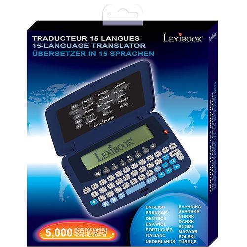 Lexibook European Translator 15 Languages