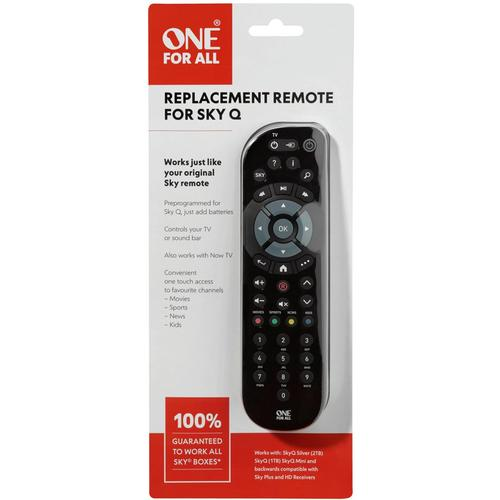 One For All Replacement SKY Q Remote Control