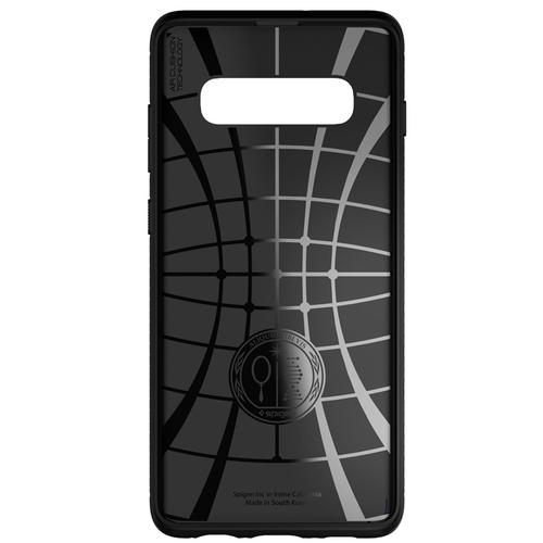 Spigen Samsung Galaxy S10 Case Rugged Armor - Matte Black