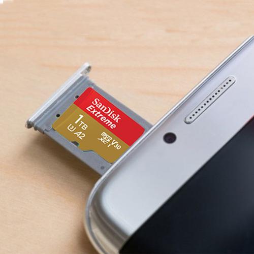 SanDisk 1TB Extreme V30 Micro SD Card (SDXC) UHS-I U3 - 160MB/s
