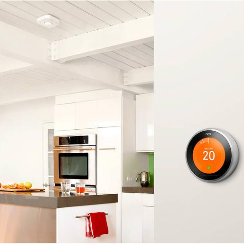 Google Nest Learning Thermostat - Silver