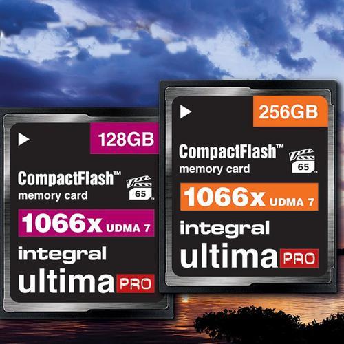 Integral 256GB 1066X Ultima PRO Compact Flash Card - 160MB/s
