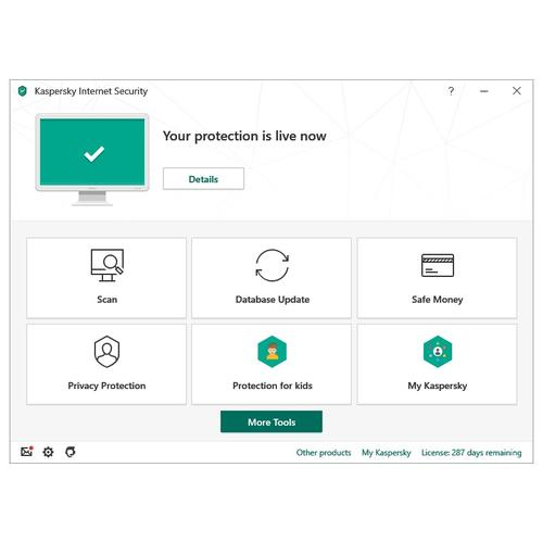 Kaspersky Internet Security 2020 (10 Devices, 1 Year)