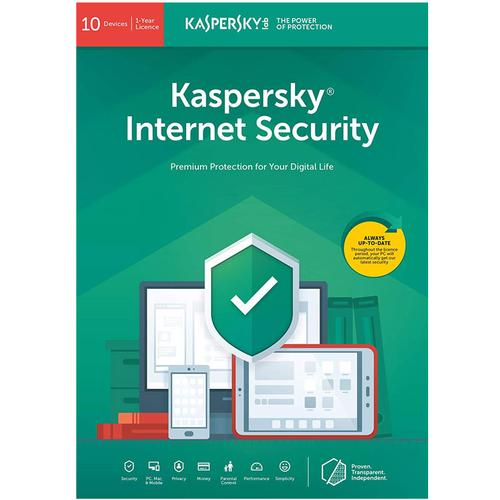 Kaspersky Internet Security 2019 (10 Devices, 1 Year)