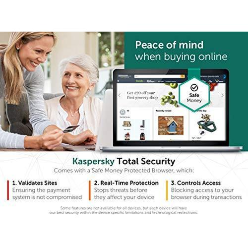Kaspersky Total Security 2020 (5 Devices, 1 Year)