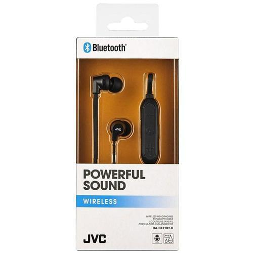 JVC Wireless Bluetooth Sports Headphones - Black