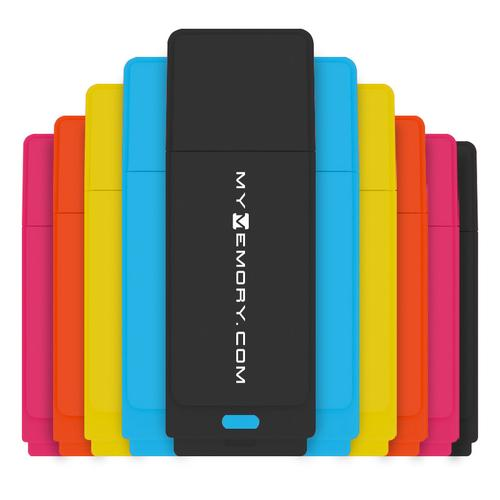 MyMemory 16GB Neon USB 2.0 Flash Drives - 10 Pack