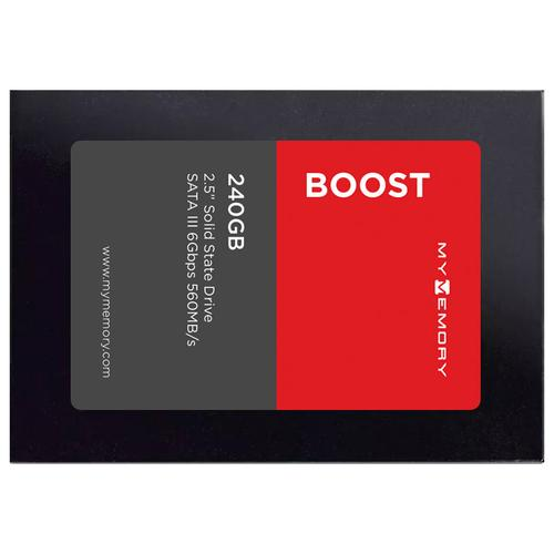 "MyMemory Boost Internal SSD Drive 2.5"" SATA III 240GB - 560MB/s"