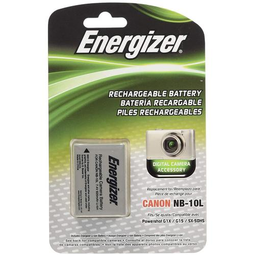 Energizer Canon NB-10L Battery