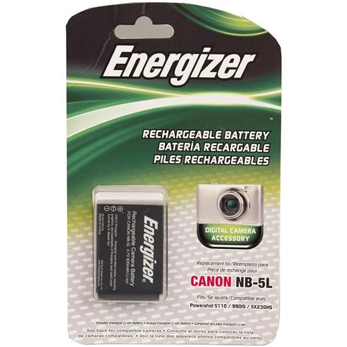 Energizer Canon NB-5L Battery