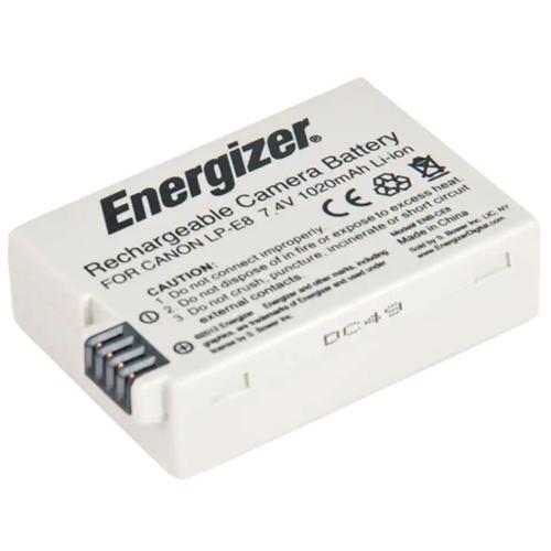 Energizer Canon LP-E8 Battery