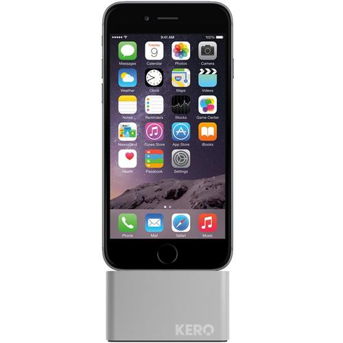 Kero Cable Weight iPhone Dock - Lightning Silver
