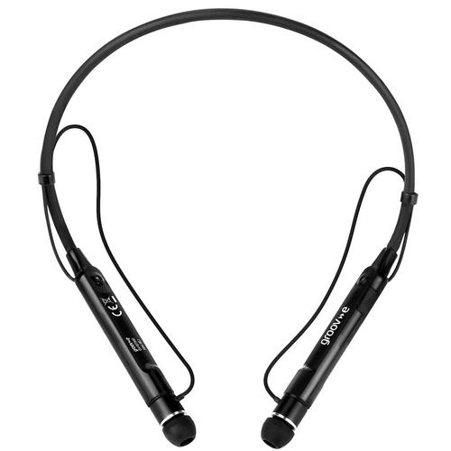 Groov-e Connect Wireless Bluetooth Earphones with Neckband - Black