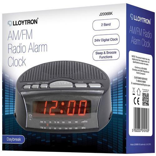 Lloytron  Daybreak Alarm Clock Radio
